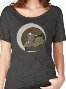 Cappuccino Vespa Women's Relaxed Fit T-Shirt