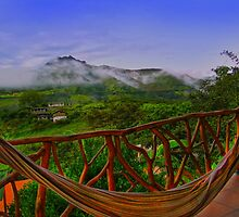 Relaxing In Vilcabamba, Ecuador by Al Bourassa
