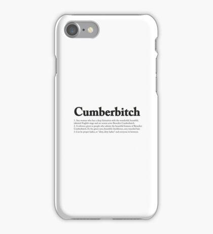 CUMBERBITCH TEE - 2nd Edition iPhone Case/Skin