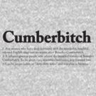CUMBERBITCH TEE - 2nd Edition by Octave