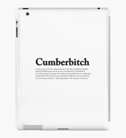 CUMBERBITCH TEE - 2nd Edition iPad Case/Skin