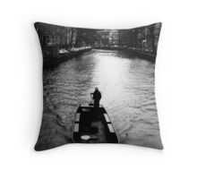 Amsterdam Style Throw Pillow