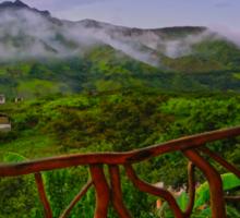 Relaxing In Vilcabamba, Ecuador Sticker