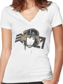 Generation Kill Women's Fitted V-Neck T-Shirt