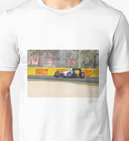 Williams FW37 Formula One Car Unisex T-Shirt