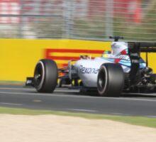 Williams FW37 Formula One Car Sticker
