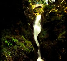 Aira Force Waterfall in the Lake District by afh1066