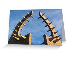 Northern British Design Greeting Card