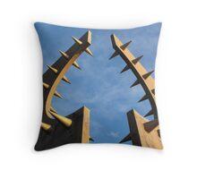 Northern British Design Throw Pillow