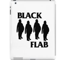 BLACK FLAB iPad Case/Skin