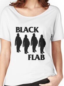 BLACK FLAB Women's Relaxed Fit T-Shirt