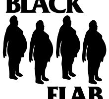 BLACK FLAB by apeape