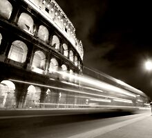 Rome night by Dominic Parkes