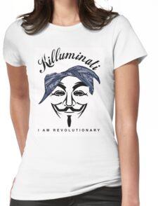 2Pac Killuminati Womens Fitted T-Shirt