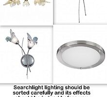 Searchlight Lighting-Add Beauty to a Dull Room with Great Lights by edwardmitchell