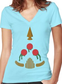 Plague Marine Women's Fitted V-Neck T-Shirt