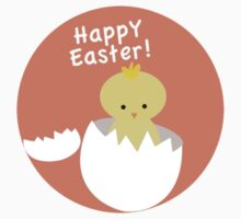 Happy Easter from Chicky! One Piece - Short Sleeve