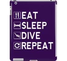 Eat - Sleep - Dive - Repeat iPad Case/Skin