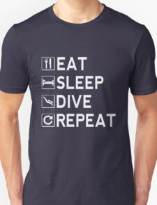 Eat - Sleep - Dive - Repeat T-Shirt