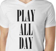 Play All Day Mens V-Neck T-Shirt