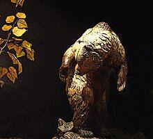 Bear In The Woods by Al Bourassa