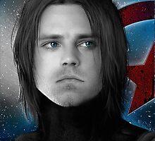 Bucky - James Buchanan Barnes - Captain America Winter soldier by Caim