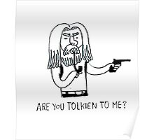 Tolkien to me Poster