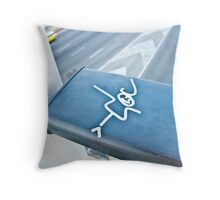 Flat Character Throw Pillow