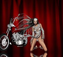 motorcycle show by Cheryl Dunning