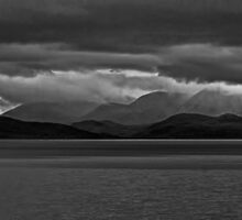 Over the Sea to a Stormy Skye. by David Alexander Elder