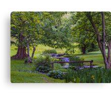 Garden Valley Canvas Print