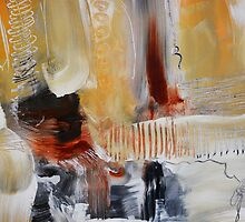 Abstract Painting on Paper - Study by AndradaArt