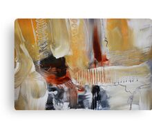 Abstract Painting on Paper - Study Canvas Print