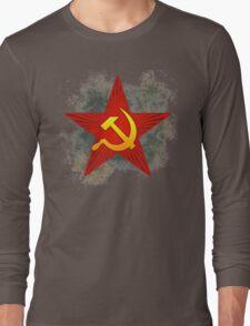 Grungy CCCP Long Sleeve T-Shirt