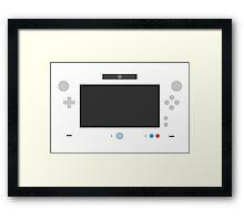 Wiite U Framed Print