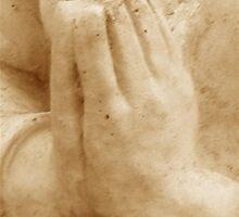 Hands In Prayer by Marie Sharp