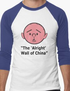 Karl Pilkington - The Alright Wall Of China Men's Baseball ¾ T-Shirt