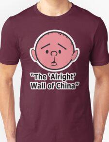 Karl Pilkington - The Alright Wall Of China Unisex T-Shirt
