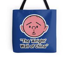 Karl Pilkington - The Alright Wall Of China Tote Bag