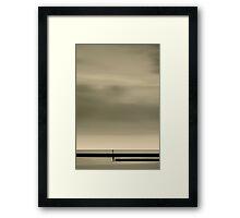 The Sea II Framed Print
