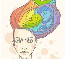 Rainbow in My Head by paletskaya