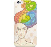 Rainbow in My Head iPhone Case/Skin