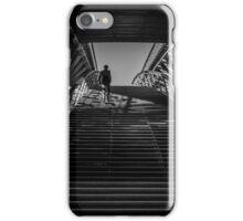 Passerelle Léopold-Sédar-Senghor Bridge Steps iPhone Case/Skin