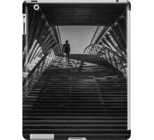 Passerelle Léopold-Sédar-Senghor Bridge Steps iPad Case/Skin