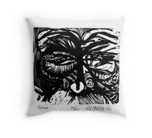 Satan Throw Pillow