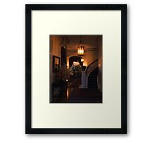 Sacramento's Historic Governor's Mansion: front entryway Framed Print