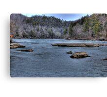 Cumberland River III Canvas Print