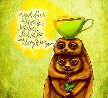 What my #Coffee says to me - March 17, 2015 by catsinthebag