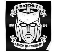 Legend Of Cybertron - Ratchet Poster