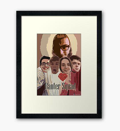 GTA Banter Squad Framed Print
